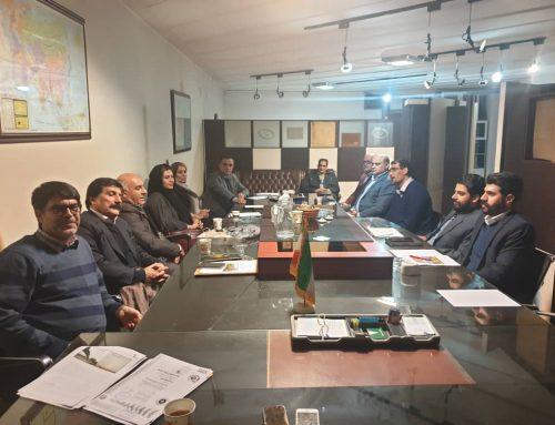 اولین نشست کمیته بازرگانی
