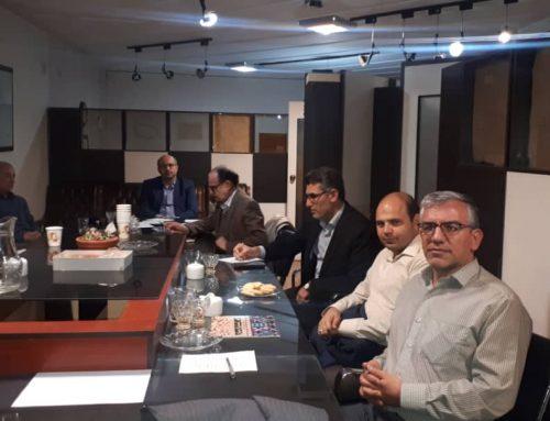 اولین جلسه کمیته تشکیلات برنامه وبودجه جمعیت هشت بهشت