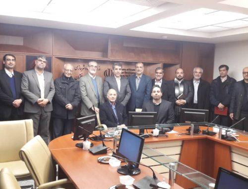دیدار با جناب آقای مهندس محمودزاده معاونت محترم مسکن وساختمان وزارت راه وشهرسازی